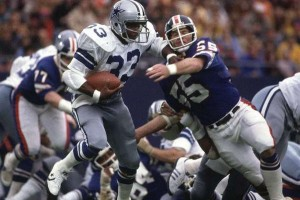 Tony Dorsett had many memorable plays for the Cowboys.