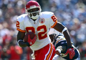 A miscue by Dwayne Bowe late in a December 14, 2008 game had a ripple effect on NFL history.