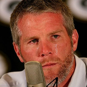 It looks like Brett favre is retiring again and this time the team doing the crying is the Vikings.