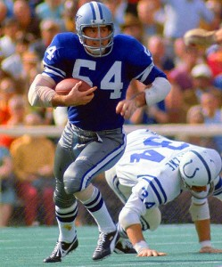 Chuck Howley is the only player to be named Super Bowl MVP while playing on the losing team.