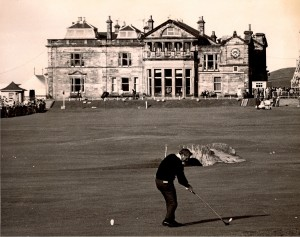Arnold Palmer was the first American in the modern era to regularly play in the British Open.
