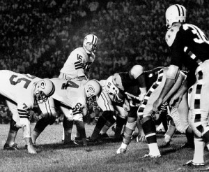 In 1963 Bart Starr and the Packers lost to an All-Star squad that featured future AFL and NFL stars Buck Buchanan, Bobby Bell, Ray Mansfield and Lee Roy Jordan.
