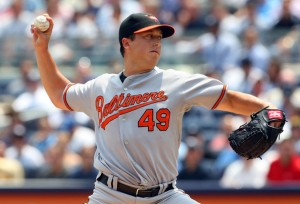 Jason Berken is one of five rookies who has made his first major league start this season for the Orioles.