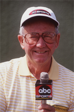 Bob Rosburg spent more than three decades as a golf announcer for ABC.