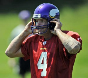 Brett Favre just wants to play football.