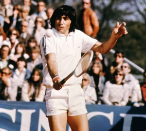 "Ilie Nastase was the original tennis ""bad boy."""