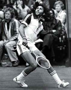 Nastase won two Grand Slam singles titles, but was also an accomplished doubles champion.