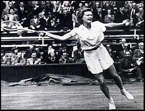 A four-time championat the U.S. Nationals, Pauline Betz-Addie claimed the 1942 title while still attending Rollins College.