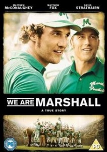 The 2006 movie We Are Marshall depicted the events following the 1970 plane crash and decision to keep playing football at Marshall.
