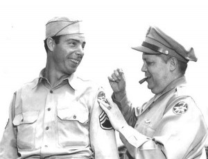 Joe DiMaggio enlisted in the Army in 1943 and missed three full baseball seasons.
