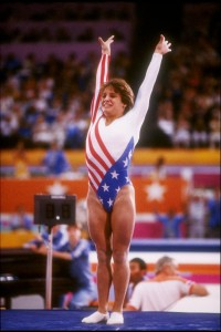 It was 25 years ago when Mary Lou Retton shined at the Los Angeles Olympics.