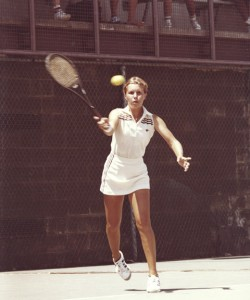 Wendy White Prausa is the only player to ever graduate on-time from college while also playing on the women's professional tour.