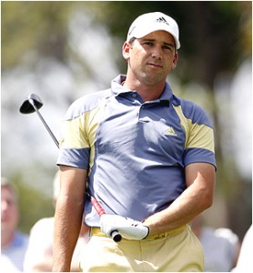 Sergio Garcia tied for second at the 2008 PGA Championship and is considered the best player in golf without a major championship.