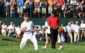 Y.E. Yang is the 38th golfer since World War II to win his first major at the PGA Championships.
