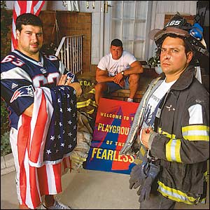 Joe Andruzzi's brothers were the true heroes.