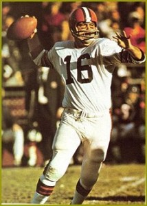 Bill Nelsen and the Cleveland Browns entered the game against the Colts struggling with a 2-3 record. Nelsen threw three touchdown passes (none longer than 6 yards) to get the team on a roll.
