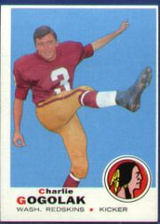 "A last second field goal by Charlie Gogolak gave the Redskins a new record for points in a game and a 31-point victory. Coach Otto Graham said he called for the field goal because the rookie kicker needed the ""practice."""