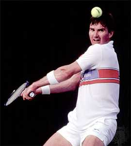 Jimmy Connors won the U.S. Open five times.