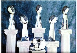 The Dallas Cowboys have won five Super Bowls, but last claimed the trophy in January 1996. It will probably take a successful fight against the salary cap for Jerry Jones and his team to win their sixth.