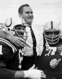 Don Shula won 71 games in his seven years with the Colts, but they struggled in the biggest games.