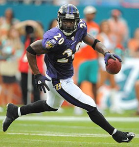 Ed Reed and the Baltimore Ravens will look to move past the Pittsburgh Steelers this season.