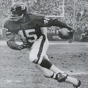 Homer Jones caught six passes, including a 50-yard touchdown, against the Redskins.
