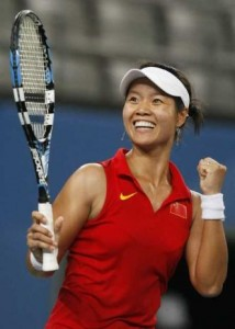 Li Na reached the U.S. Open quarterfinals before losing to Kim Clijsters.