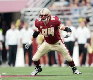 Mark Herzlich is one of the top linebackers in college football.