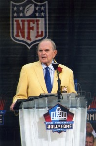 The Buffalo Bills have had one owner in their 50 year history. Ralph Wilson was inducted into the Pro Football Hall of Fame in 2009.