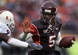 Virginia Tech ended Miami's brief foray into the top 10 with a dominating 31-7 victory.