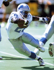 Barry Sanders left the game as arguably the best running back in NFL History