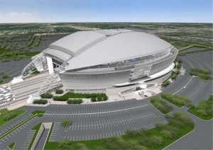 Is the new Dallas Cowboys Stadium a model for how to build a sports venue or a temple to greed and gluttony?