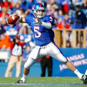 Todd Reesing will look to get the Kansas Jayhawks back to a BCS Bowl in 2009.