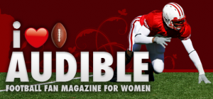 Audible magazine was created for women by a female sports fan.
