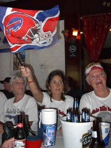 Sports bars across the country are weekly home to displaced Bills fans.