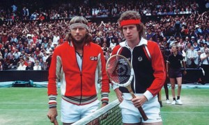 Bjorn Borg and John McEnroe opened the decade with a classic Wimbledon final.