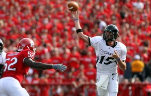 If Tony Pike and the Cincinnati Bearcats can get past South Florida, they could be ready to run the table in the Big East.