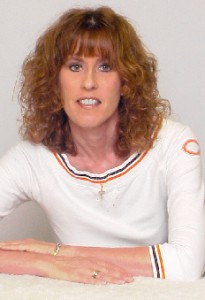 Magazine founder Cindi Dammann is a life-long sports fan and doesn't miss a game of her beloved Chicago Bears.