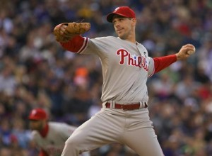 Cliff Lee will take to the mound for the Phillies in game three of the NLCS.