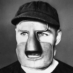 Clint Benedict was the fist goalie to wear a mask in a game, but it was another 29 years before it was imitated.