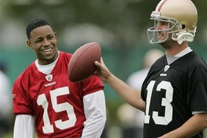 Michael Crabtree will finally start spending time on the field with his teammates instead of in meetings with his agents.