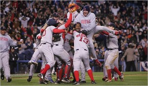The Red Sox snatched victory from jaws of defeat when they beat New York in the ALCS.