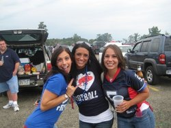The author is convinced that the best female fans in the NFL reside in Buffalo.
