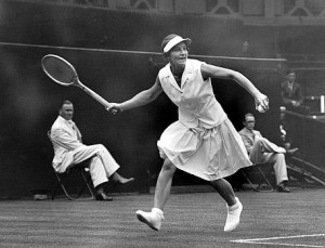 Helen Wills Moody won her first Grand Slam title at age 17 and her last at age 32.