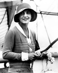 Helen Wills Moody displayed grace, beauty and glamour both on and off the tennis court.