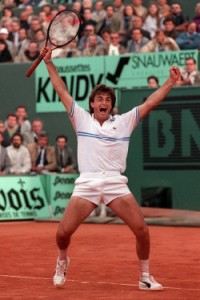 The 1988 French Open was the only Grand Slam finals appearance for Frenchman Henri Leconte.