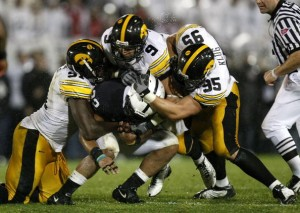 The Iowa Hawkeyes are off to a 7-0 start.