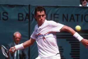 One of five men to hold the number one World ranking during the 1980s, Ivan Lendl held the number one ranking for 238 weeks during the decade.
