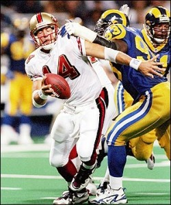 The 49ers selected Jim Druckenmiller over Jake Plummer in the 1997 NFL Draft.