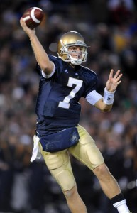 Jimmy Clausen played well against USC, but the Irish came up just short of victory.